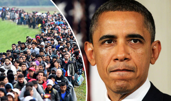 Obama vows to let 10,000 refugees into US despite fears JIHADIS could slip through net