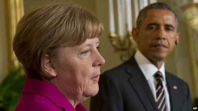 Obama, Merkel to Discuss Trade, Terrorism, Refugees in Two-Day Visit