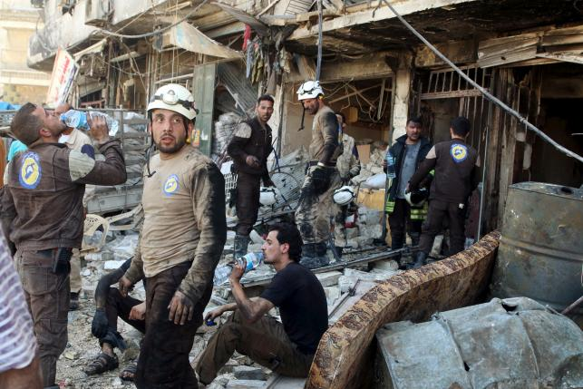 Syrian government strikes on two rebel-held areas kill 23: monitor