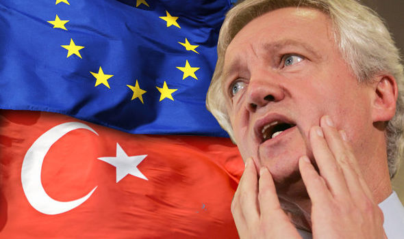Horror as Turkish is made an 'official EU language' before ANY voters support membership