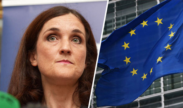 Minister attacks Brussels bureaucrats desperate to to 'create country called Europe'