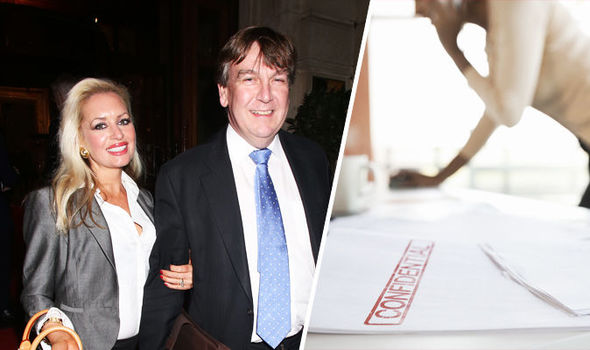 Top Tory in new sex scandal after 'showing porn star ex-lover top-secret Cabinet papers'