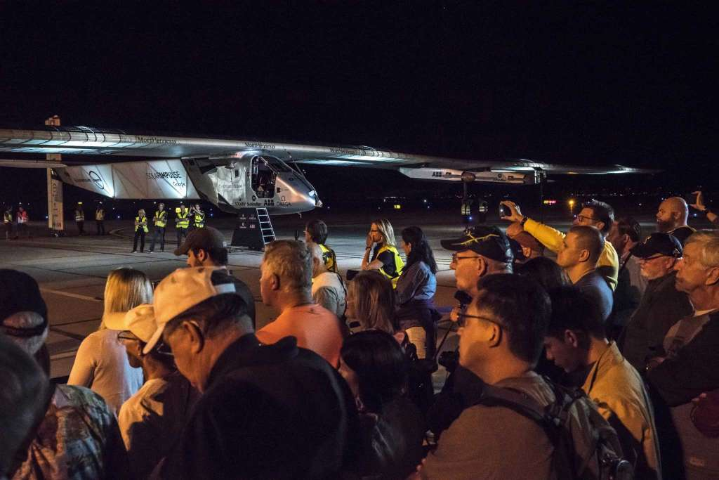 Solar plane's next leg of global trip — Arizona to Oklahoma