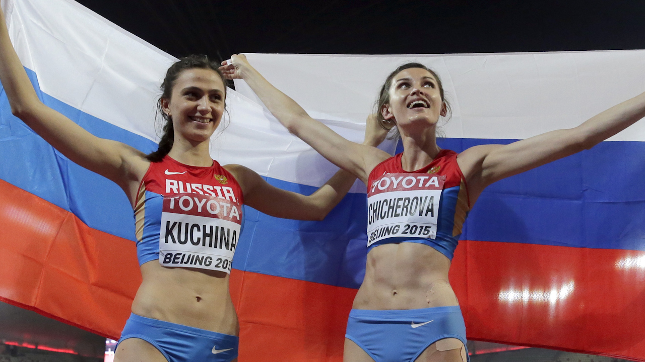Russian Olympic athletes test positive