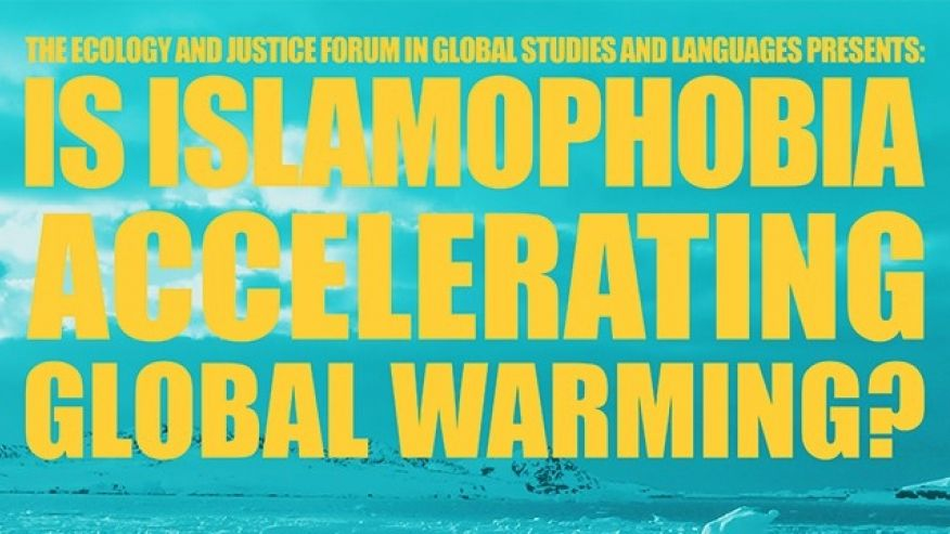 MIT lecture: 'Is Islamophobia Accelerating Global Warming?'