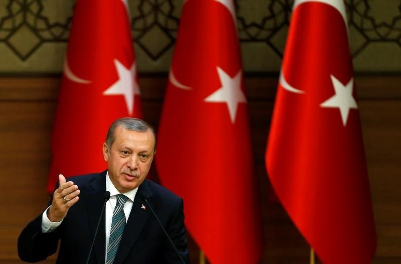 Turkey's Erdogan Rebuffs EU On Terrorism Law; 'We're Going Our Way, You Go Yours.'