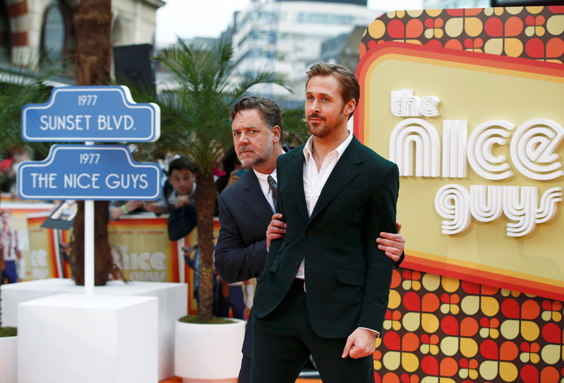 Gosling And Crowe Play Not So 'Nice Guys' In A Seedy Los Angeles