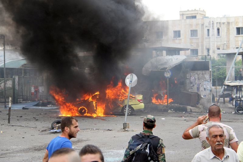 Bombs Kill More Than 140 In Syrian Government-Held Cities: Monitor