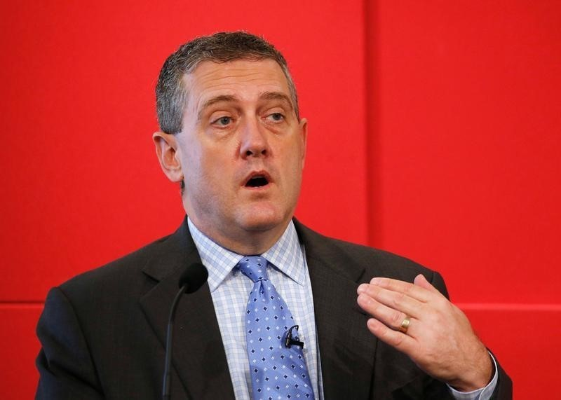 Fed's Bullard Says Global Markets Seem Well-Prepared For Summer Rate Hike