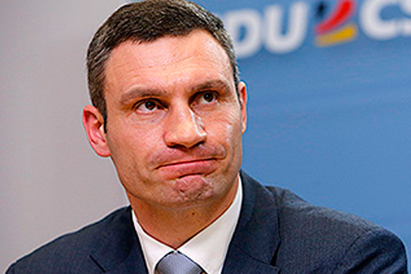 Vitali Klitschko was not able to pronounce the word «totalitarianism»