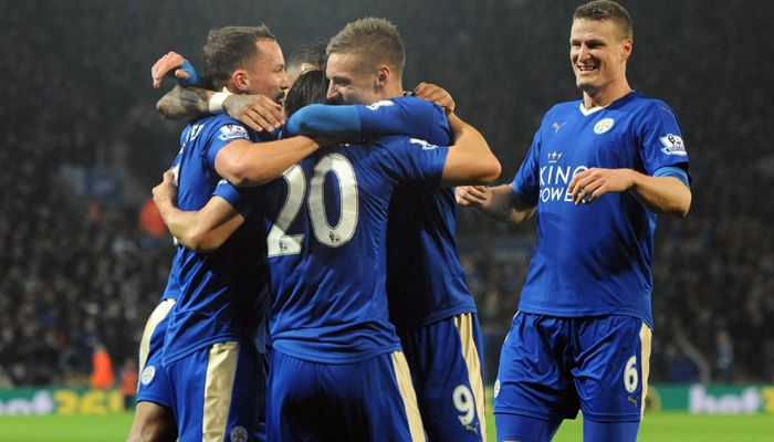 Leicester City win Premier League title after Tottenham draw at Chelsea