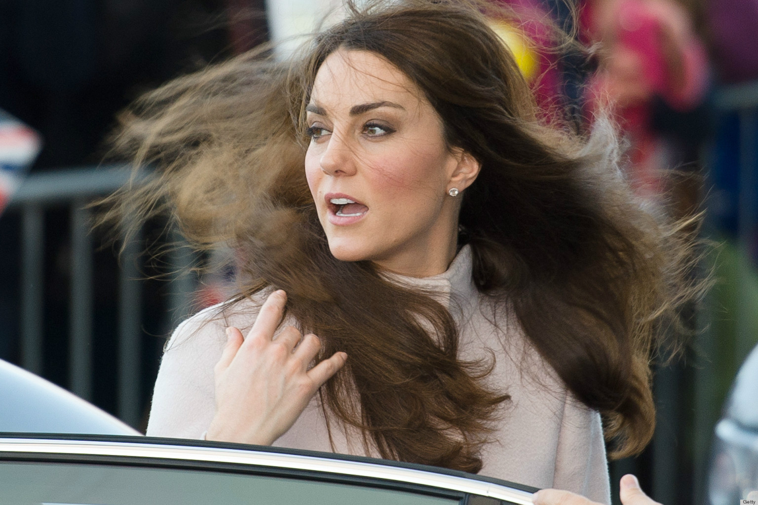 Kate Middleton almost has a 'Marilyn Monroe moment' on tour of India