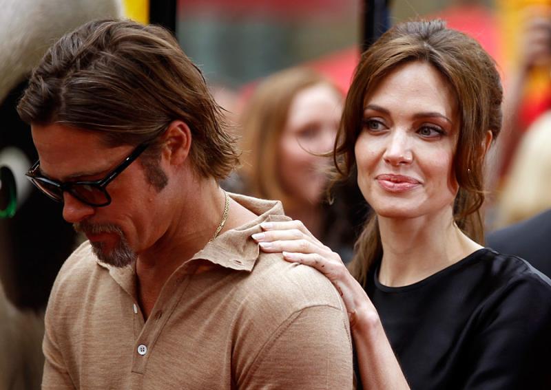BRAD PITT AND ANGELINA JOLIE TO DIVORCE AFTER ALLEGED MARION COTILLARD AFFAIR, LIZZY CAPLAN KISS?