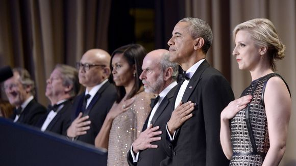 President Obama's best jokes from the White House Correspondents' Dinner