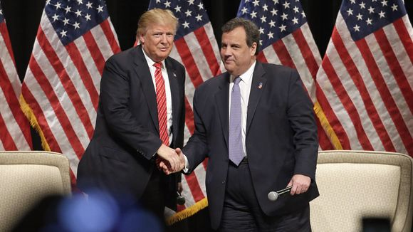 Christie to head up Trump transition team