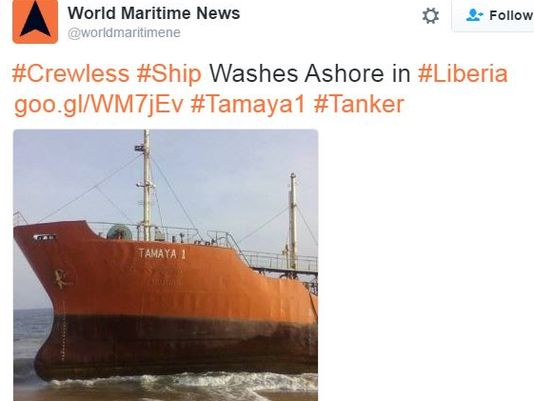 Ghost ship: Panama tanker goes off grid, washes up with no crew