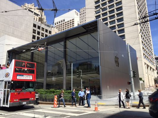 Apple Stores get major makeover