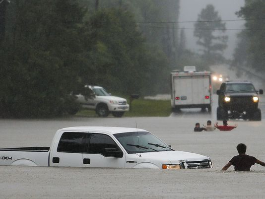 Flooding, severe weather devastate Texas