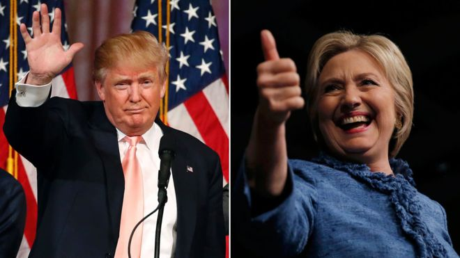 US election: The man hurting Clinton in her fight with Trump