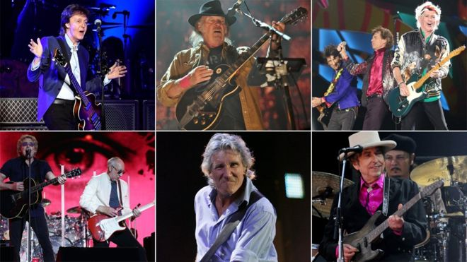 Rock legends to play US 'mega-festival'