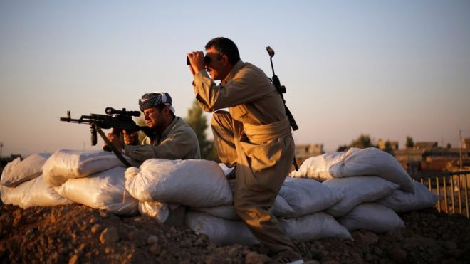 US Navy Seal killed in Iraq as IS breaches Peshmerga lines