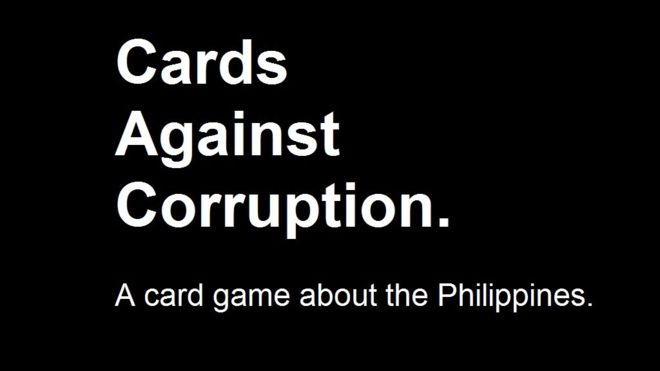 Cards Against Corruption: A game about the Philippines