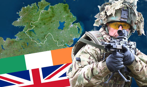 EXCLUSIVE: Send the army to IRELAND before BREXIT TIME BOMB erupts, warn UKIP