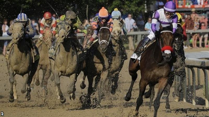 Kentucky Derby: Nyquist beats Exaggerator at Churchill Downs