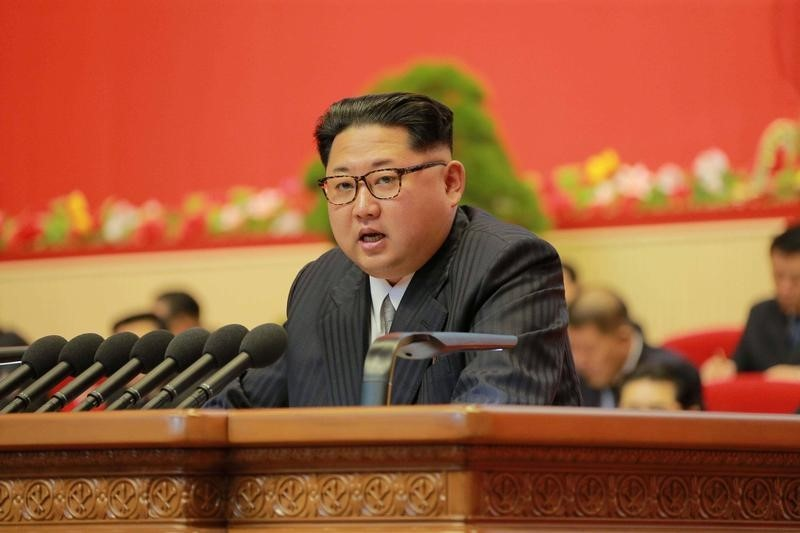 North Korea Leader Kim Says Will Not Use Nuclear Arms Unless Threatened