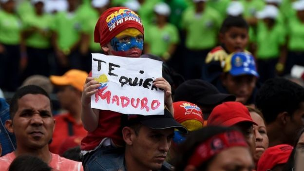 Venezuela crisis: Maduro threatens seizure of closed factories