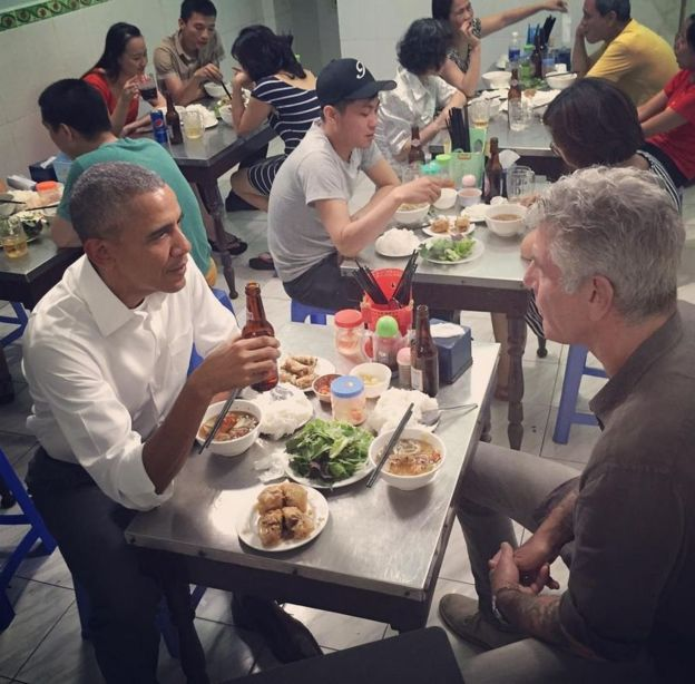 Six things about the $6 Bourdain-Obama meal