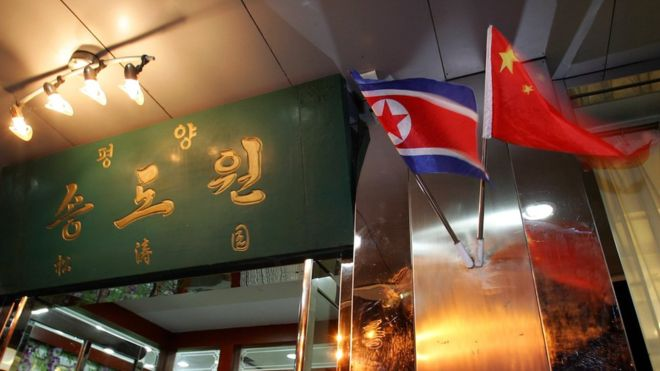 North Korean workers defect from overseas restaurant, says South