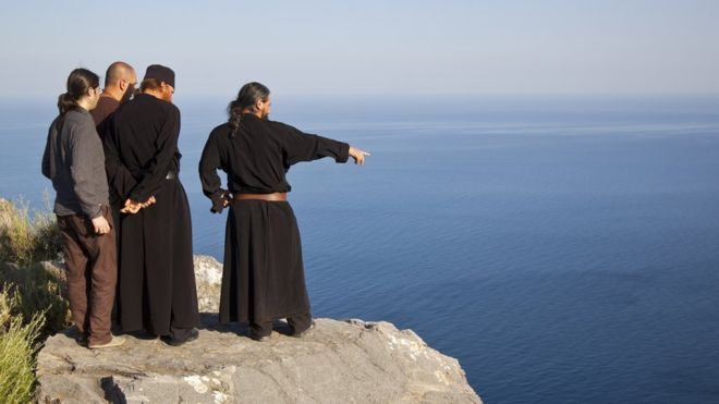 Why are women banned from Mount Athos?