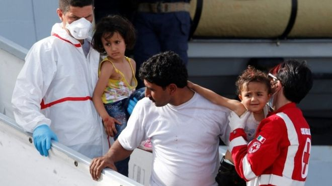 European migrant crisis: Weekly boat rescues reach 13,000