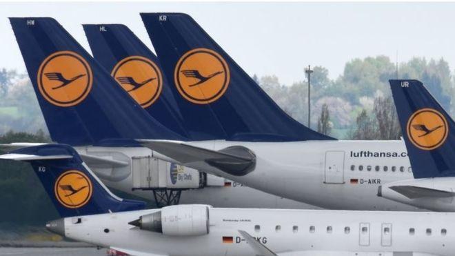 Lufthansa to suspend flights to Venezuela