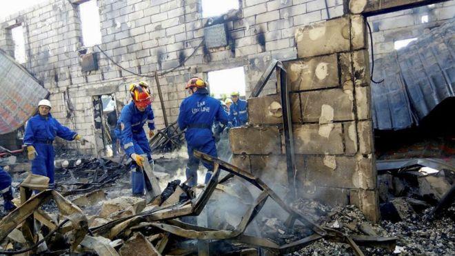 Ukraine fire kills 17 in care home near Kiev