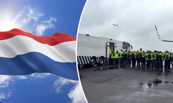 Albanians deported as Dutch clamp down on illegal immigrants on popular route to UK