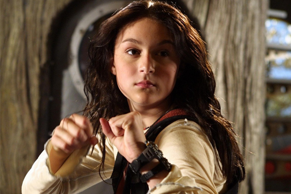 Remember Alexa Vega, the little girl from Spy Kids? Well she's all grown up now and looks a little like this