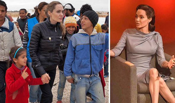 'I can't stand it!' Furious reaction to Angelina Jolie's BBC lecture on the migrant crisis