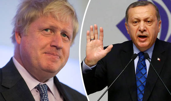 Boris Johnson wins offensive poetry competition with prose on Turkey's Erdogan and a GOAT