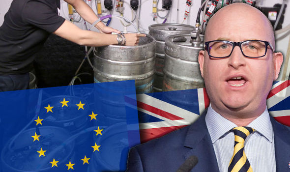 Pubs want Brexit: Now even Britain's boozers want to LEAVE EU, reveals shock poll