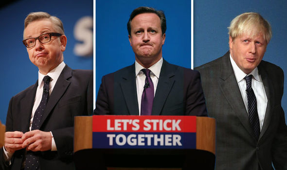 Cameron running scared: Prime Minister REFUSES to take part in head-to-head EU debates