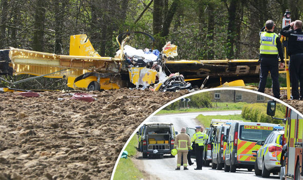 Two dead after light aircraft crashes