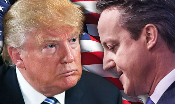 Trump heads for summer showdown with Cameron as PM refuses to back down from 'stupid' jab
