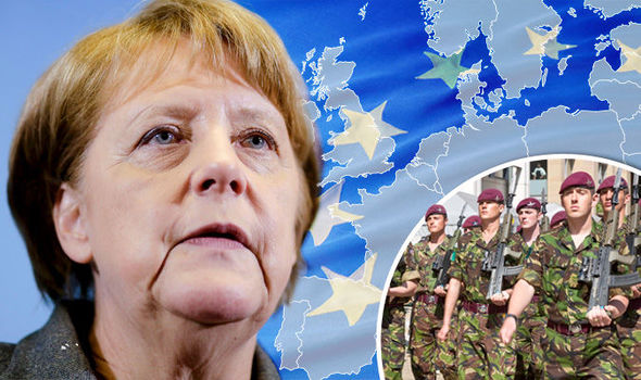 German plot to keep EU army a SECRET till June 23 EXPOSED as plans drawn up in Berlin