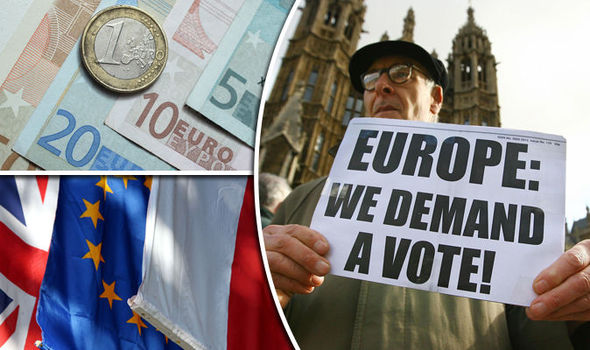 Now financial experts say the EU DISINTEGRATING is 'a question of when not if'