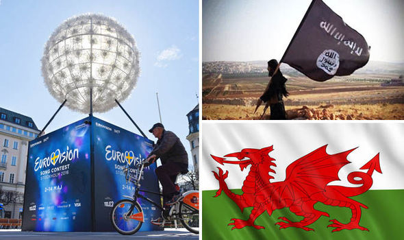Eurovision officials BAN Welsh and ISIS flags — but EU and LGBT are allowed