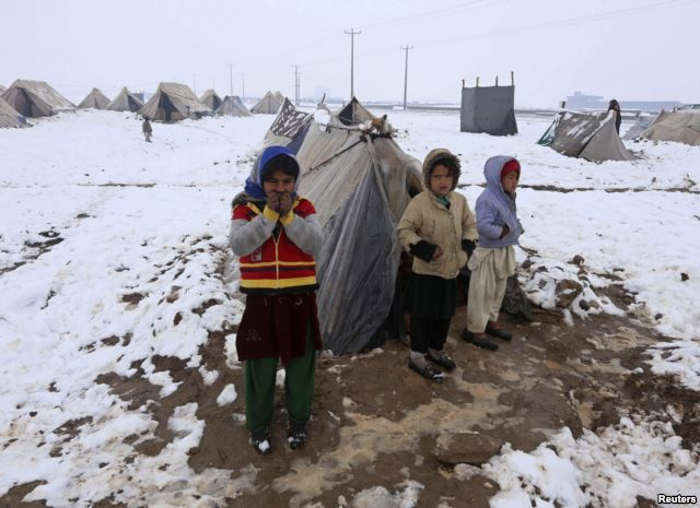 Dramatic Rise in Number of Afghans Displaced by Conflict