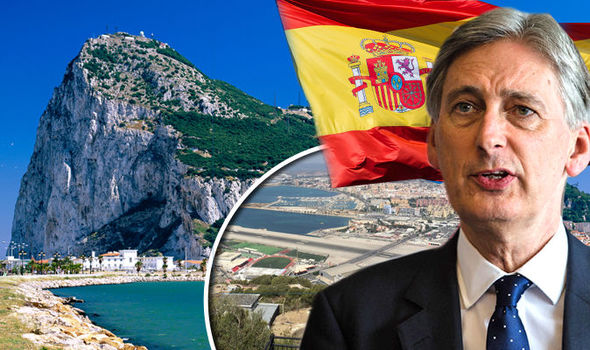 SHAMEFUL Spain bans RAF plane from its airspace as Gibraltar tensions reach new levels
