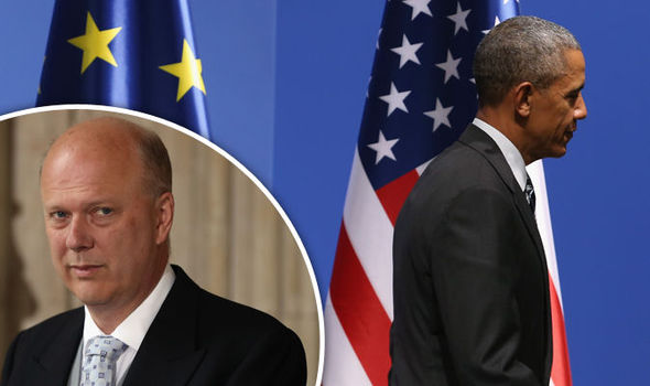 The President is WRONG: Grayling strikes back at Obama's Remain threat in scorching attack